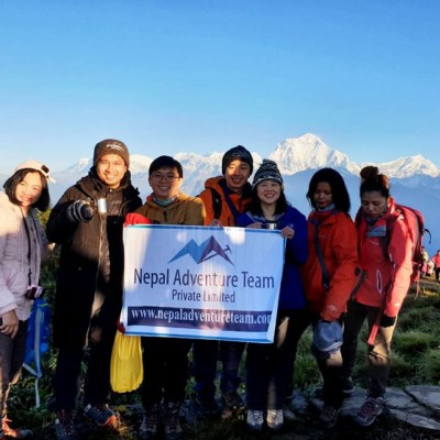 ABC Trek Via Poon Hill Trek