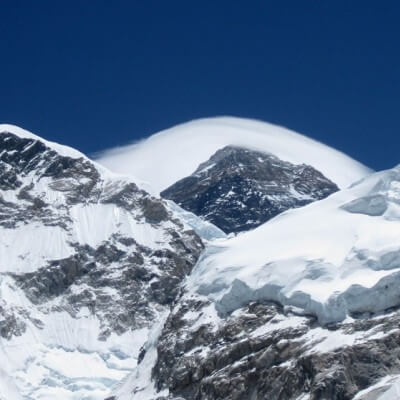 The Mount Everest (Sagarmatha) 8848 m