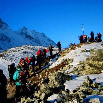 Trekking in The Nepal Himalayas