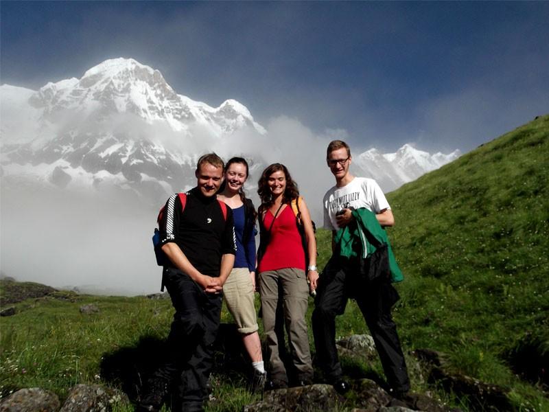 Annapurna Base Camp Trek Elevation