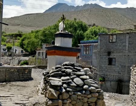 Upper Mustang Stupas