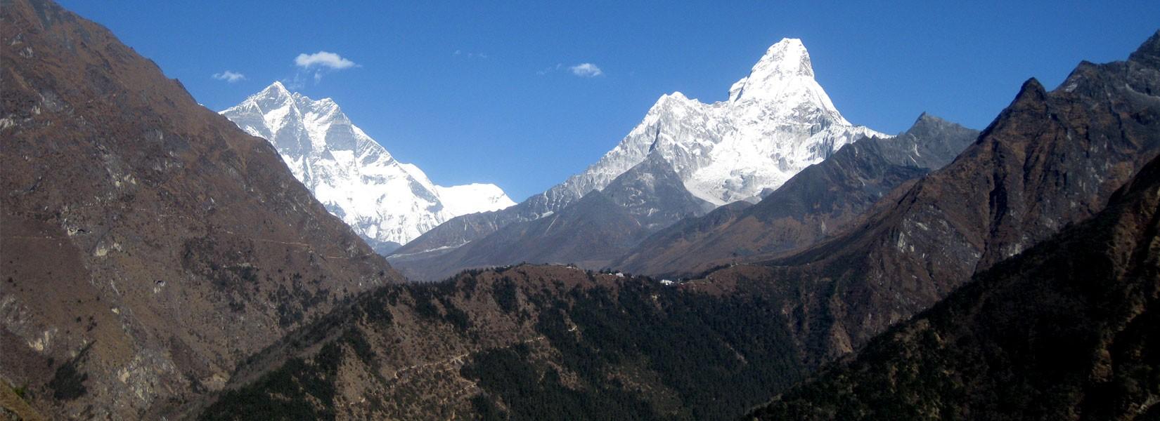 Tengboche Monastery in Himalaya