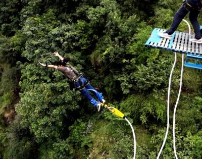 Bhotekoshi Bungee Jump in Nepal